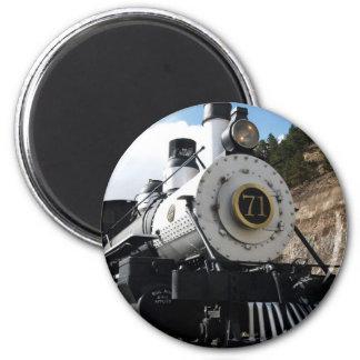 Motor de vapor central del ferrocarril de Colorado Imán De Nevera