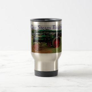 Motor de vapor del caso tazas de café
