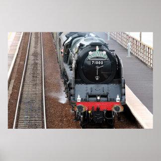 Motor de vapor el duque de Gloucester Posters