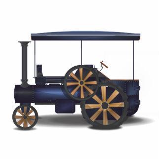 Motor de vapor imán fotoescultura