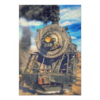 Motor de vapor occidental de Maryland Fotografía