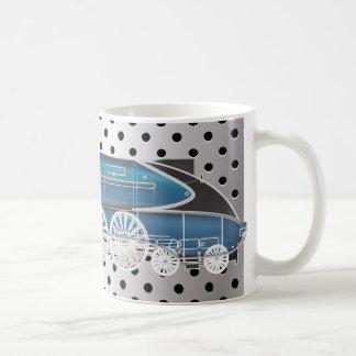 Motor de vapor tazas de café