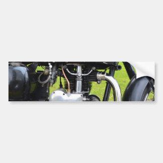 Motor de Velocette Pegatina De Parachoque