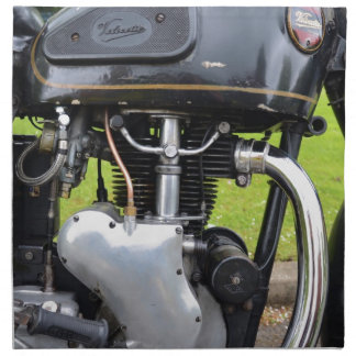 Motor de Velocette Servilleta