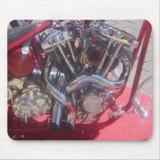 Motor del Bobber Alfombrillas De Ratones