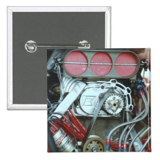 Motor del coche del nacional de Cajun Pin