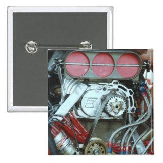 Motor del coche del nacional de Cajun Pin Cuadrado