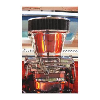 Motor del cromo impresiones en lona estiradas