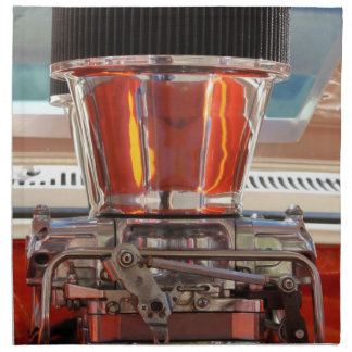 Motor del cromo servilleta de papel