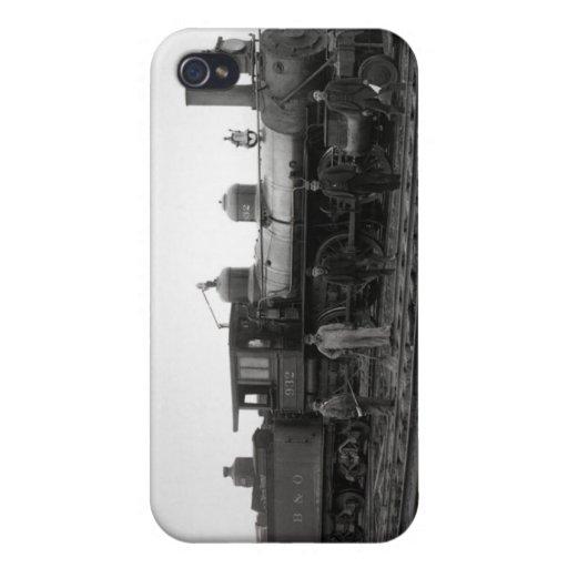 Motor del ferrocarril de Baltimore y de Ohio # vin iPhone 4/4S Funda