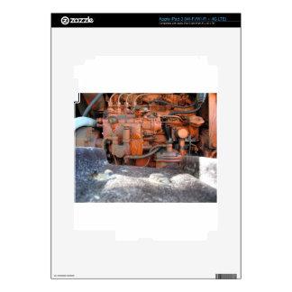 Motor del tractor de correa eslabonada italiano iPad 3 skin