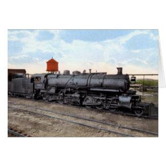 Motor del tren de Duluth Minnesota Tarjetas