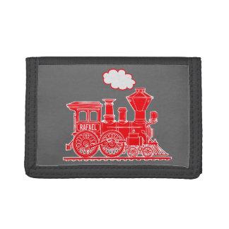 Motor del tren del vapor de los muchachos su carte