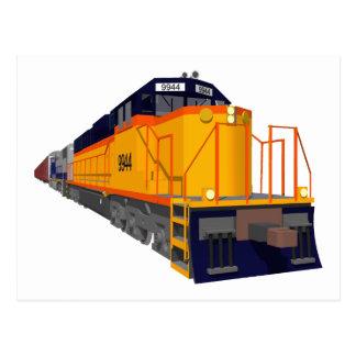 Motor del tren: Esquema de color clásico: Tarjeta Postal