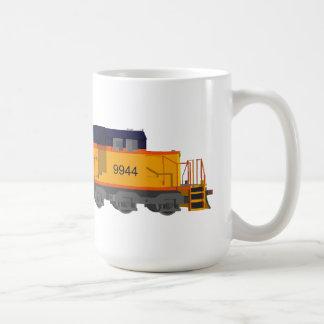 Motor del tren Esquema de color clásico Tazas De Café