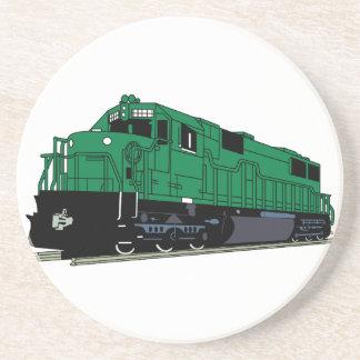 Motor del tren posavaso para bebida
