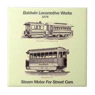 Motor del vapor de Baldwin para la teja de los
