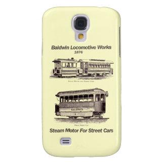 Motor del vapor de Baldwin para los coches 1876 de