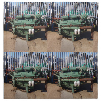 Motor diesel servilletas de papel
