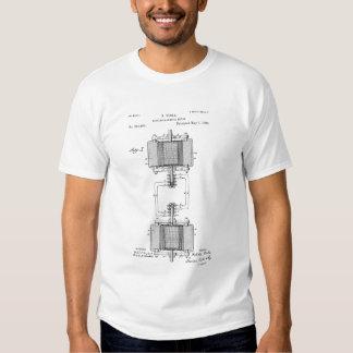 Motor eléctrico de Tesla Remeras