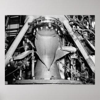 Motor espacial Blowout, 1958 Poster