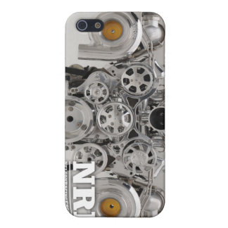Motor gemelo pulido de Turbo iPhone 5 Cárcasa