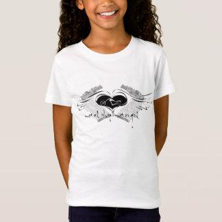 Motor Girl Biker Wings T-Shirt