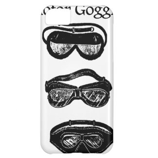 Motor Goggles Text Driving Cover For iPhone 5C