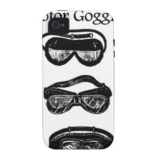 Motor Goggles Text Driving iPhone 4 Cases