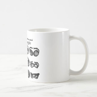 Motor Goggles Text Driving Coffee Mug