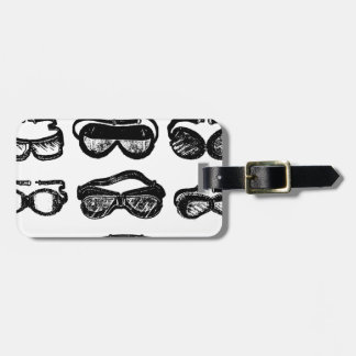 Motor Goggles Text Driving Tags For Luggage