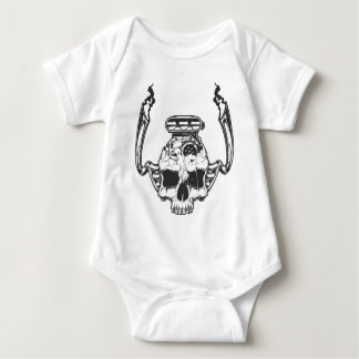 motor head baby bodysuit