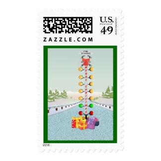 Motor Head Christmas Stamps