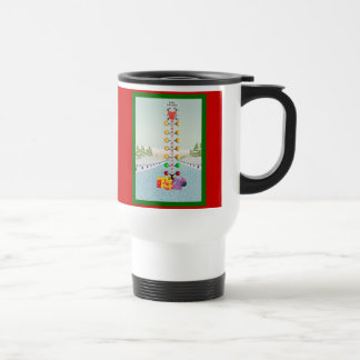 Motor Head Christmas Travel Mug
