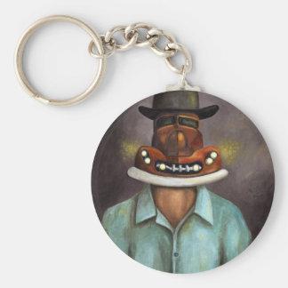 Motor  Head Keychain