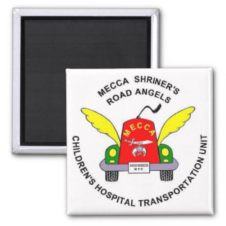MOTOR HEADS magnet! 2 Inch Square Magnet