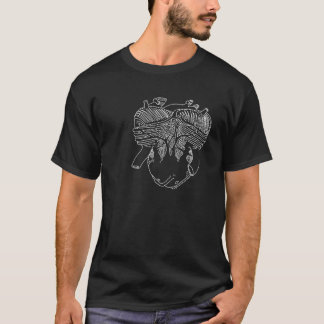 Motor Heart Engine T-Shirt