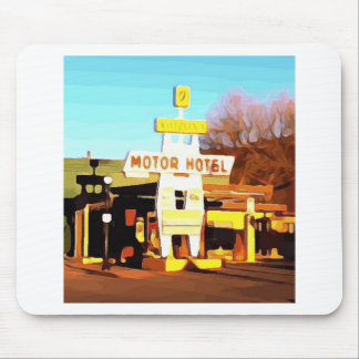 Motor Hotel in Williams Mouse Pad