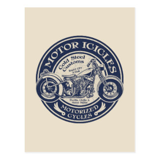 Motor Icicles Postcard