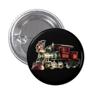 Motor locomotor del tren del vapor pin redondo de 1 pulgada