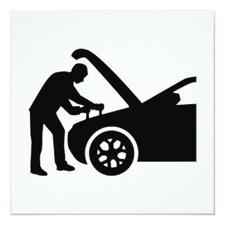 Motor mechanic card