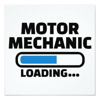 Motor mechanic loading card