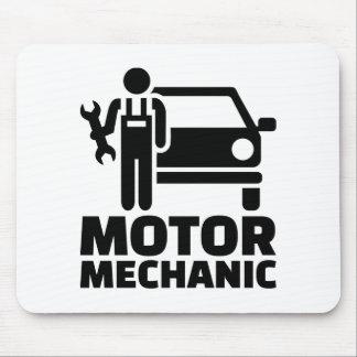 Motor mechanic mouse pad