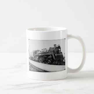 Motor nacional canadiense 5700 del ferrocarril tazas de café