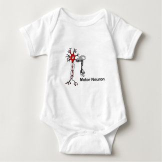 Motor Neuron Baby Bodysuit