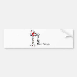 Motor Neuron Bumper Sticker