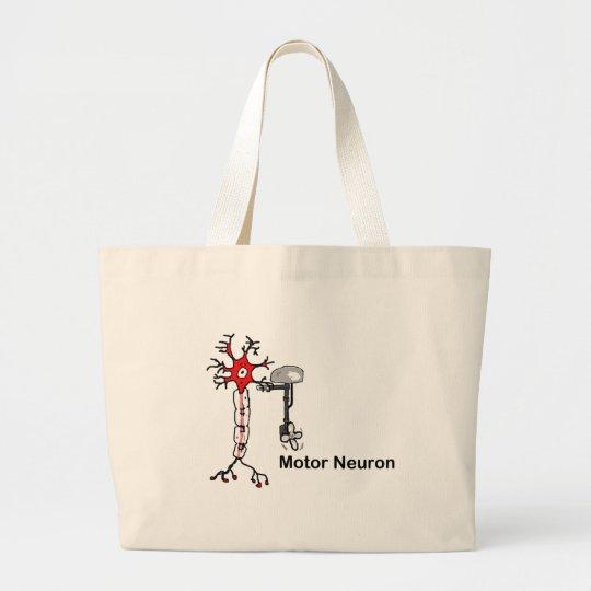 Motor Neuron Large Tote Bag