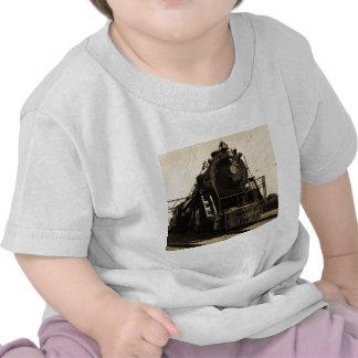 Motor occidental #6335 del tronco magnífico camisetas