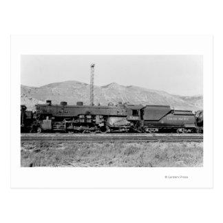 Motor pacífico #5312 del ferrocarril de la unión tarjetas postales