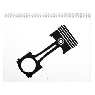 Motor piston calendar